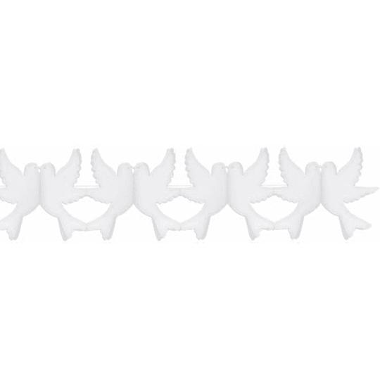 Guirnalda Palomas Blancas 3M 1 Uni