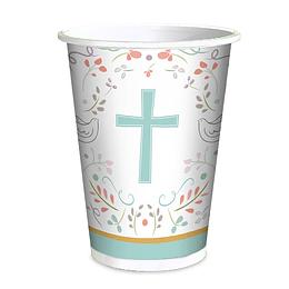 Vaso Religioso Cruz 6 Uni