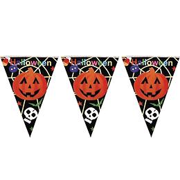 Guirnalda Banderines Halloween Negra 1 Uni