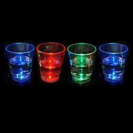 Vaso Shot C/Luz 4 Uni