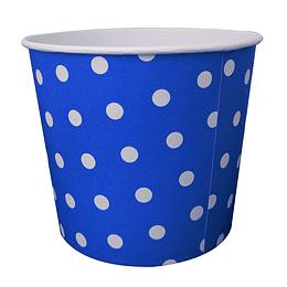 Pote Para Compartir Azul Lunares 1 Uni