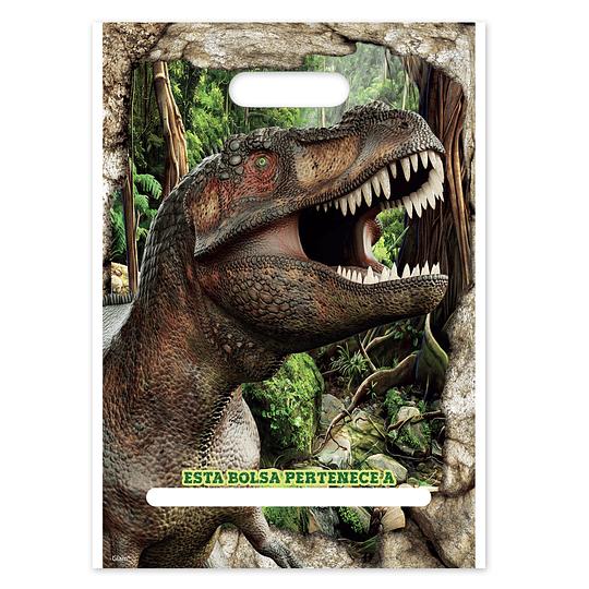 Bolsas Para Dulces Dinosaurios 6 Uni