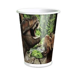 Vasos Dinosaurios 6 Uni
