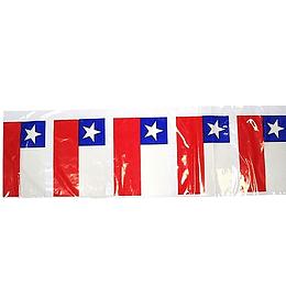 Bandera Chilena 20Cm 10Mt 1 Uni
