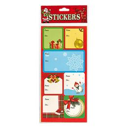 Etiquetas De/Para Navidad 28 Uni