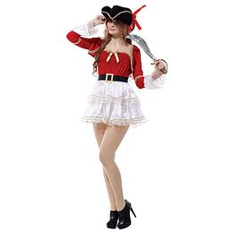 Disfraz Mujer Pirata Unica Talla 1 Uni