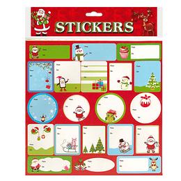 Etiquetas De/Para Navidad 40 Uni
