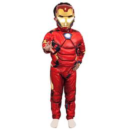 Disfraz Assemble Ironman Deluxe Talla 7/8 1Uni