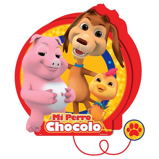 Piñata 3D Mi Perro Chocolo 1 Uni
