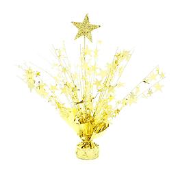 Centro De Mesa Spray Estrella Dorada 1 Uni