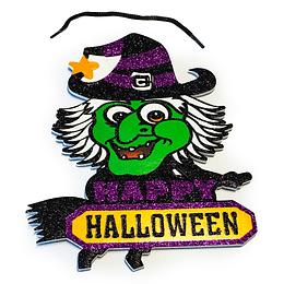 Deco Bruja Halloween 1 Uni