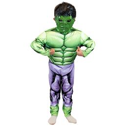 Disfraz Assemble Hulk Deluxe Talla 7/8 1Uni