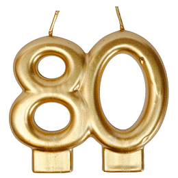 Vela Dorada 80 Años 1 Uni