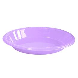 Bowl Ovalado Lila 5 Uni