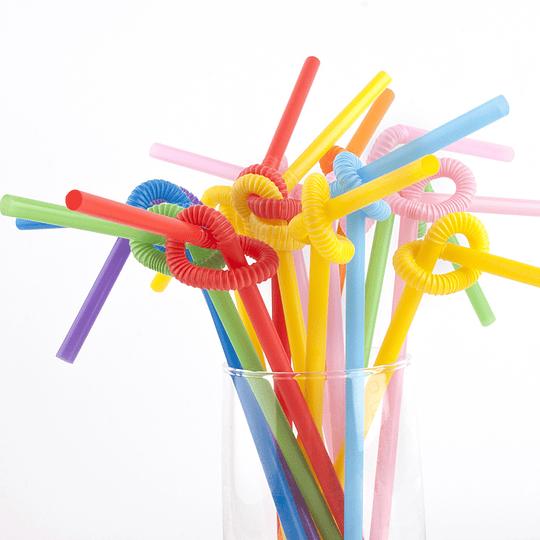 Bombillas Flexibles Deco Colores 50 Uni