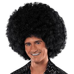 Peluca Afro Gigante Negro 1 Uni
