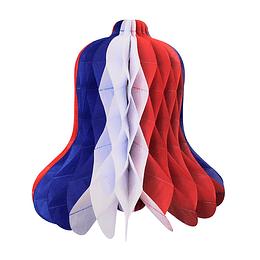 Deco Campana Tricolor 25Cm 1 Uni