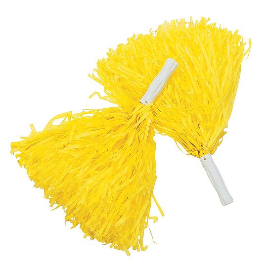 Porra Plastica Amarillo 2 Uni