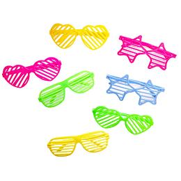 Pack Anteojos Rayas Plasticos 12 Uni