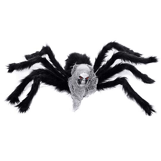 Araña Peluda Con Craneo 75Cm 1 Uni