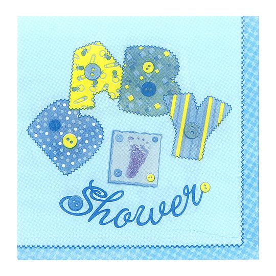Servilleta Baby Shower Celeste 20 Uni