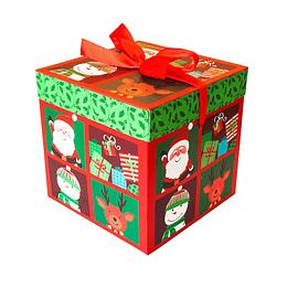 Caja Regalo Navidad 15Cm 1 Uni