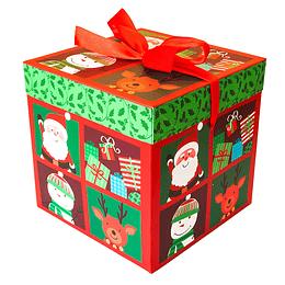 Caja Regalo Navidad 22Cm 1 Uni
