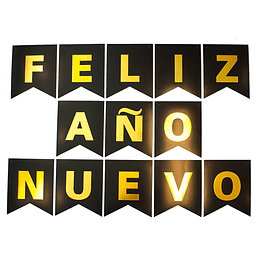 GURNALDA FELIZ AÑO NUEVO NEG/DOR 1 UNI