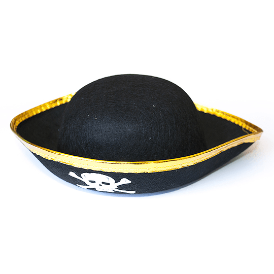 Sombrero Pirata 3 Ptas Niño 1 Uni