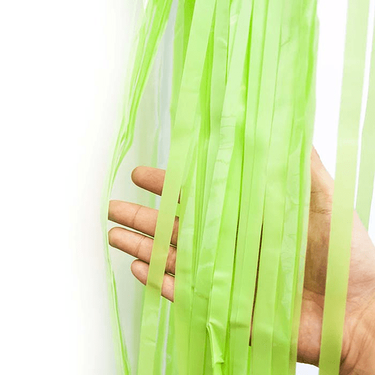 Cortina Verde Agua Pastel 240X100Cm 1 Uni