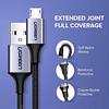 CABLE UGREEN MICRO USB 3A 2 METROS