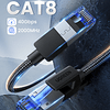CABLE UGREEN ETHERNET CAT8 1 METRO