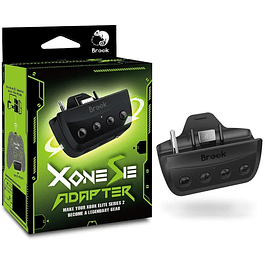 Brook X ONE Adapter SE - Conecta tu control Xbox Series XS y Elite en Switch, PS5 ,PS4 ,Xbox y PC