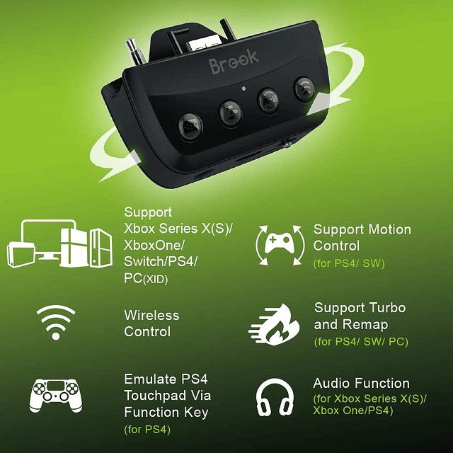 Brook X ONE Adapter SE - Conecta tu control Xbox Series XS y Elite en Switch, PS5 ,PS4 ,Xbox y PC