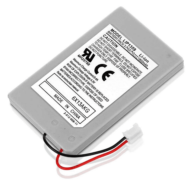 Batería Recargable 3.7V 1800 mAh