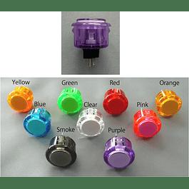 Boton Seimitsu PS-14-K - Transparente