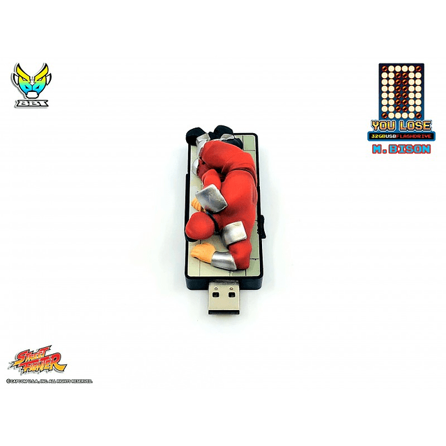 """Street Fighter """"You Lose"""" 32gb - Flash Drive"""