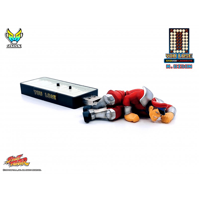 "Street Fighter ""You Lose"" 32gb - Flash Drive"