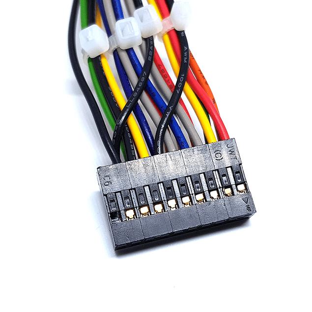 Conector 20 pines para palanca y botones