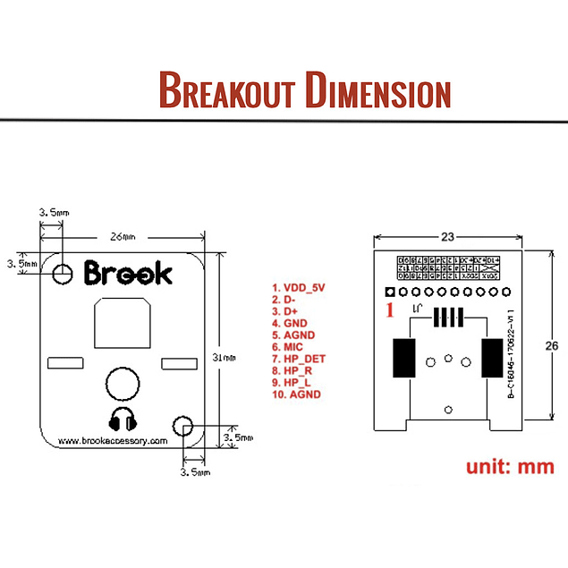 Brook Wireless Fighting Board PS4 / PS3 / SWITCH / PC