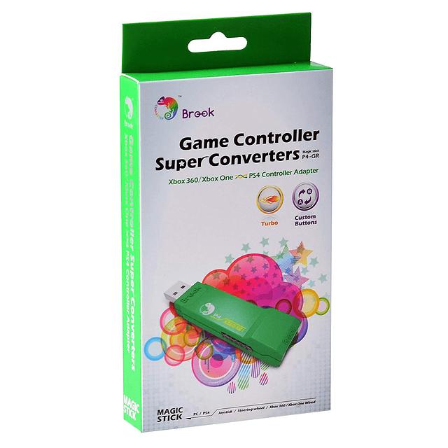 Adaptador Brook Gaming Xbox 360 Xbox One a PS4