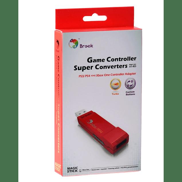 Adaptador Brook Gaming PS3 y PS4 a Xbox One