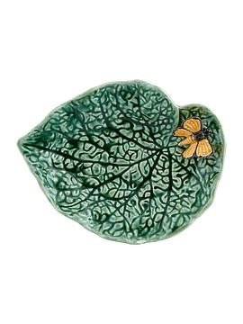 Folhas do Campo - Folha Begónia com Borboleta 20cm