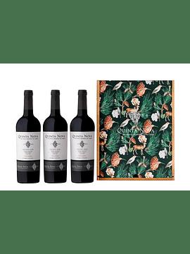 Caixa de Madeira Tripla Quinta Nova Unoaked, 2018