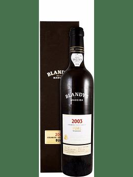 Vinho Madeira Bual Colheita Blandy's, 2003