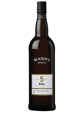 Madeira Bual 5 anos Blandy's