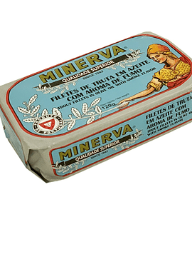 Filetes de Truta em Azeite com Aroma de Fumo
