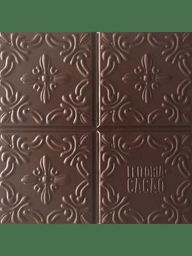 Feitoria do Cacao - Chocolate Negro São Tomé 72% + Flor de Sal de Aveiro