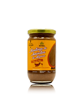 Manteiga de Amêndoa do Algarve – Alfarroba e Mel