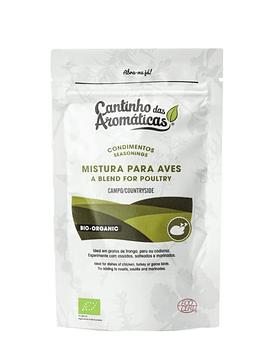 Condimentos do Campo – Mistura de Ervas Bio para Aves